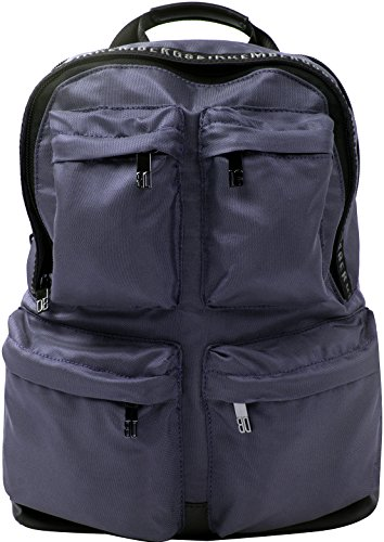 Bikkembergs Zaino in nylon D0603 Midnight Blue