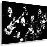 "Kunstdruck ""Metallica - James Hetfield"" / Bild 100x70cm / Leinwandbild fertig auf Keilrahmen / Leinwandbilder, Wandbilder, Poster, Pop Art Gemälde, Kunst - Deko Bilder"