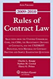 img - for Rules of Contract Law 2009 Statutory Supplement book / textbook / text book