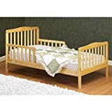 Orbelle 3-6T Toddler Bed, Natural