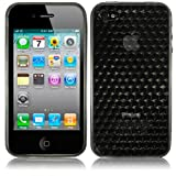 Gel Case For iPhone 4/4S - Blackby Qubits