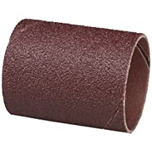 3M  Cloth Band 341D, 1-1/2&#034; Diameter x 2&#034; Width, 60 Grit, Brown (Pack of 100)