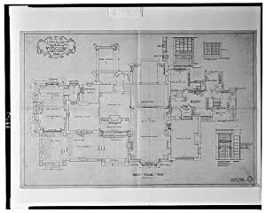 Photo: Ishpiming,William S Corby house,first floor,Chevy Chase,Maryland,A Heaton,1914