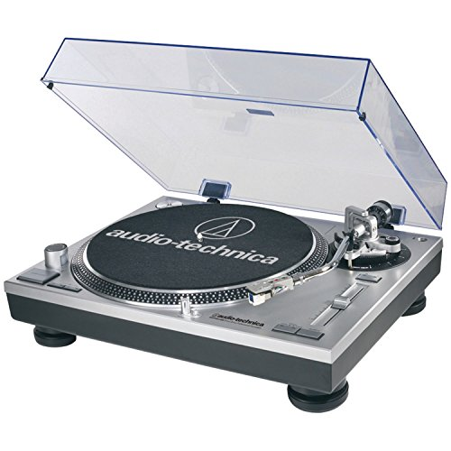 Audio-Technica AT-LP120-USB Direct-Drive Professional Turntable in Silver (Direct Drive Turntable compare prices)