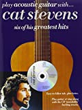 img - for Play Acoustic Guitar with...Cat Stevens book / textbook / text book