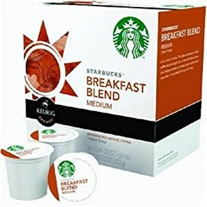 Starbucks Breakfast Blend, K-Cup Portion Pack for Keurig K-Cup Brewers, 16-Count