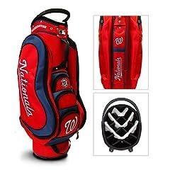 Washington Nationals MLB Cart Bag - 14 way Medalist - TGO-97935 by Team Golf
