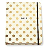 Kate Spade Large Agenda - Gold Dots