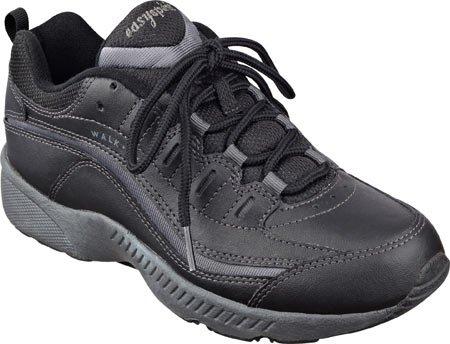 easy-spirit-womens-romy-walking-shoeblack-dark-grey-leatherus-65-m