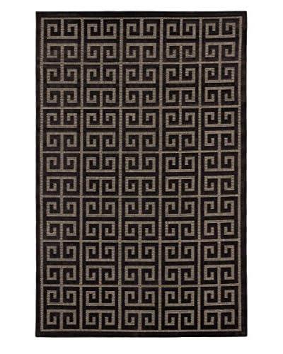 Socrates Rug, Black/Dark Gray, 5' x 7' 6