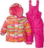 Big Chill Baby-Girls Infant Camo Snowsuit, Fuchsia, 24 Months