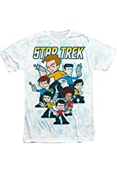 Sublimation: Quogs Crew Star Trek The Original Series T-Shirt