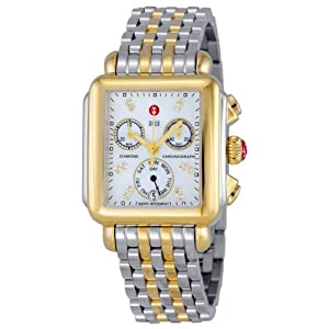 MICHELE Women's MW06P00C9046 Analog Display Swiss Quartz Multi-Color Watch