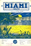 img - for On Miami Shore (Golden Sands of Miami). Waltz Song. book / textbook / text book