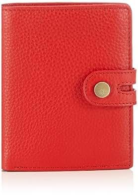 Marc O'Polo Accessories Neele Damenboerse 80267 45000 400 Damen Geldbörsen 10x13x2 cm (B x H x T), Rot (rot 45000)