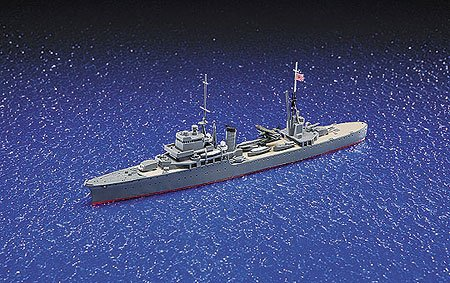 Aoshima Japanese Light Cruiser Katori Model Kit