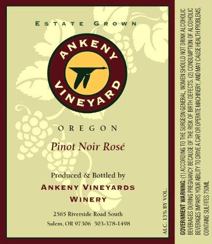 Nv Ankeny Vineyard Pinot Noir Rosé 750 Ml