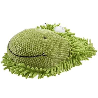 Fuzzy Friends Women's Frog Slipper,Green,One Size