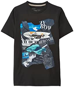 Oxbow Jixi T-Shirt manches courtes garçon Noir 10 ans