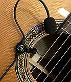 マイヤーズピックアップによる柔軟MICRO -グースネックと「 FEATHER 」ジプシージャズギターのピックアップは〜 ACTIONでそれを参照してください!コピー&ペースト: myerspickups.com
