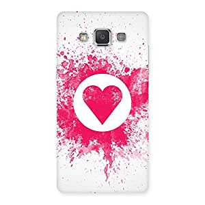 Enticing Splash Heart Back Case Cover for Galaxy Grand 3