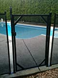 GLI 30-Inch W x 4-Feet H Safety Gate for In-Ground Pools