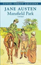 Mansfield Park (Dover Thrift Editions)…