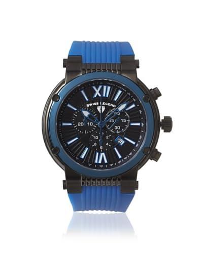 Swiss Legend Men's 10006-BB-01-BLB Legato Cirque Blue/Black Silicone Watch