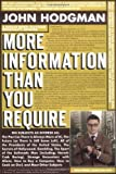 More Information Than You Require (0525950346) by John Hodgman
