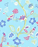 Crown Wallcoverings The Wallpaper Collection Paradise Cornflower Blue M0739