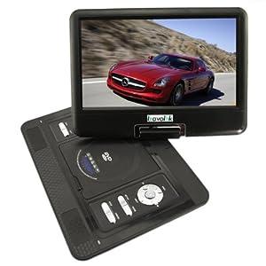"13.3"" Portable DVD Player TV USB Card Reader FM Radio Games Swivel LCD TFT"