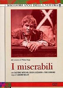Amazon.com: I Miserabili - Serie Completa (5 Dvd): Tino