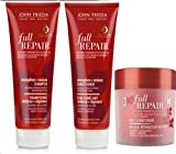 John Frieda Full Repair STRENGTH & RESTORE Shampoo, Conditioner & Deep Intense Conditioning Masque
