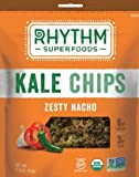 Rhythm Superfoods Zesty Nacho Kale Chips, 2-Ounce (Pack of 4)