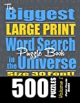 The Biggest LARGE PRINT Word Search P...