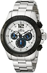 Invicta Men's 15894 Speedway Analog Display Japanese Quartz Silver Watch