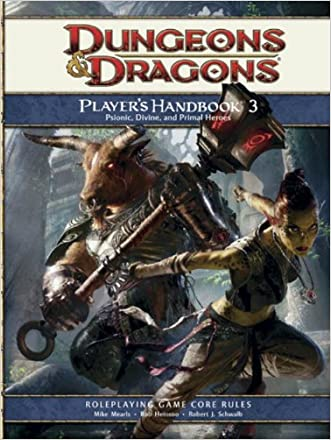 Player's Handbook 3: A 4th Edition D&D Core Rulebook written by Mike Mearls