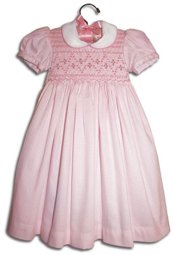 Floriana Hand smocked girl pink polka-dot party dress - Size 1 - Buy Floriana Hand smocked girl pink polka-dot party dress - Size 1 - Purchase Floriana Hand smocked girl pink polka-dot party dress - Size 1 (Farfallina For Kids, Farfallina For Kids Dresses, Farfallina For Kids Girls Dresses, Apparel, Departments, Kids & Baby, Girls, Dresses, Girls Dresses, Baby Doll & Sundresses)