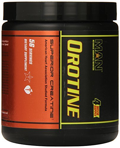 MAN Sports Orotine Nutrition Supplement, 224 Count