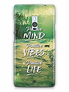 YuBingo Positive Mind Designer Mobile Case Back Cover for OnePlus 2