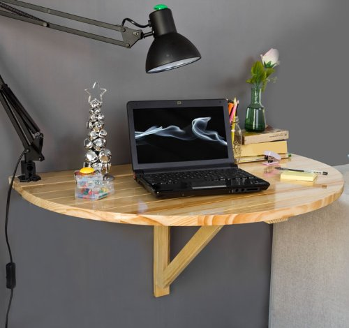 Solid Wood Wall mounted Drop leaf Table FWT10 N