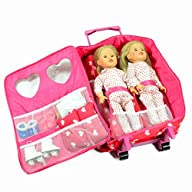 Double Doll Travel Case with Double D…