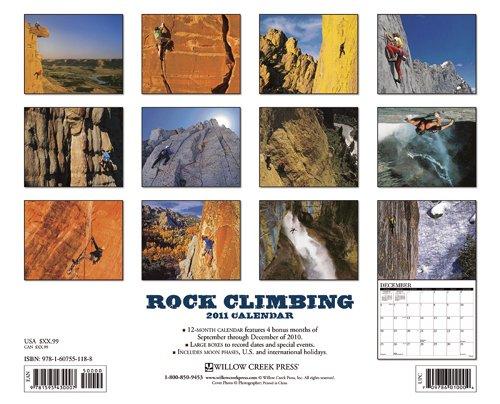 Rock Climbing 2011 Calendar