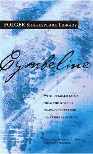 Cymbeline (Folger Shakespeare Library), William Shakespeare