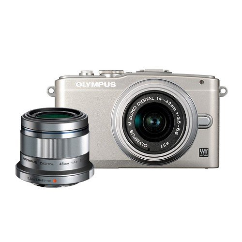 Olympus E-PL5 14-42mm + 45mm Appareil Photo Numérique Compact 16.1 Mpix Argent