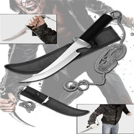 Dark Assassin Kyoketshu-Shogei Ninja Knife