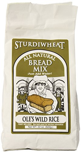 Sturdiwheat Bread Mix Wild Rice, 22-Ounce (Pack of 4) (Mn Wild Rice compare prices)