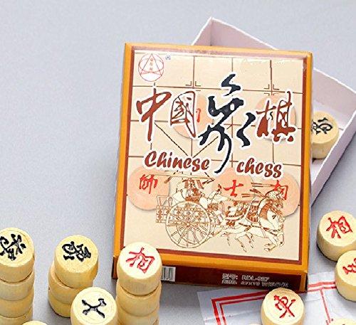 SwirlColor échecs chinois en bois, jouets éducatifs pour les adultes et les enfants