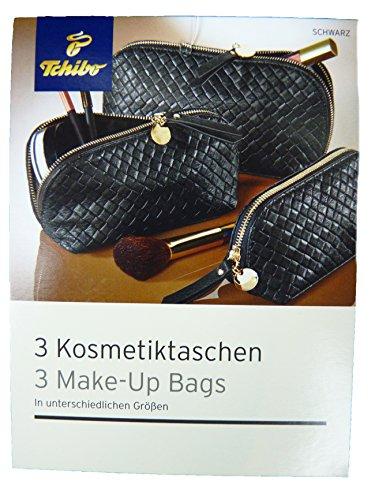 tcm-tchibo-3-x-luxury-cosmetic-bags-toiletry-cosmetic-case-black