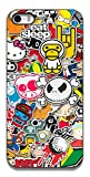 The Racoon Lean Sticker Bomb hard plastic printed back case / cover for Apple Iphone 5/5s